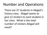 number and operations2