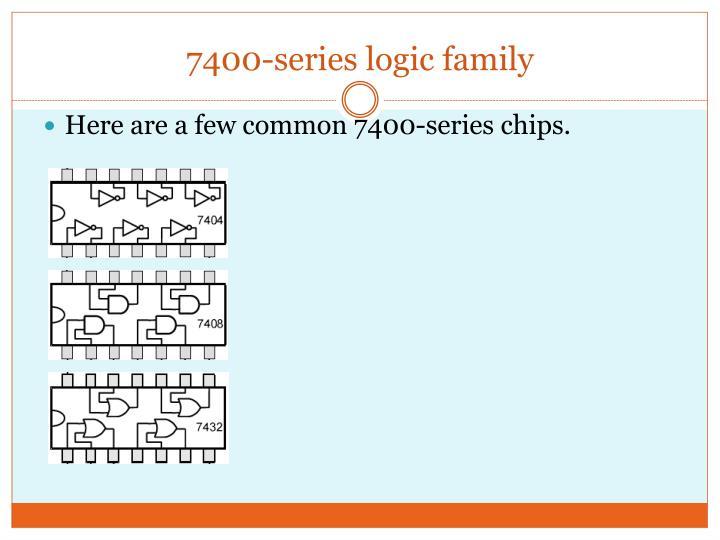 7400-series logic family