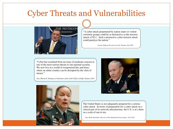 Cyber Threats and Vulnerabilities