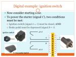 digital example ignition switch