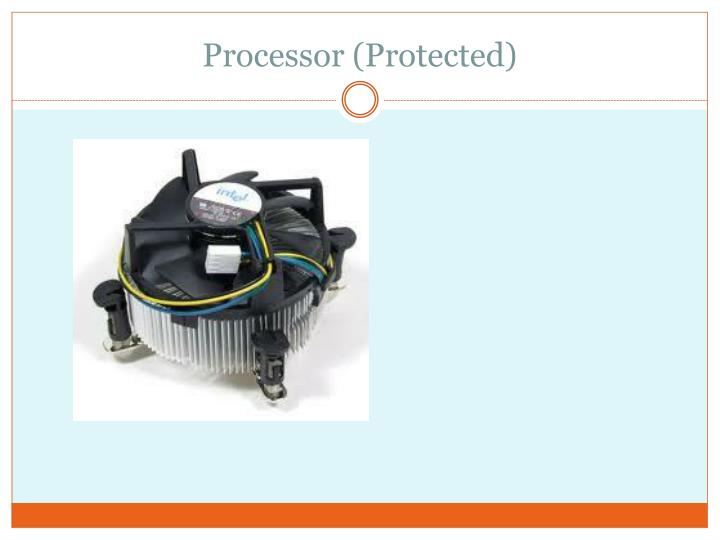 Processor (Protected)