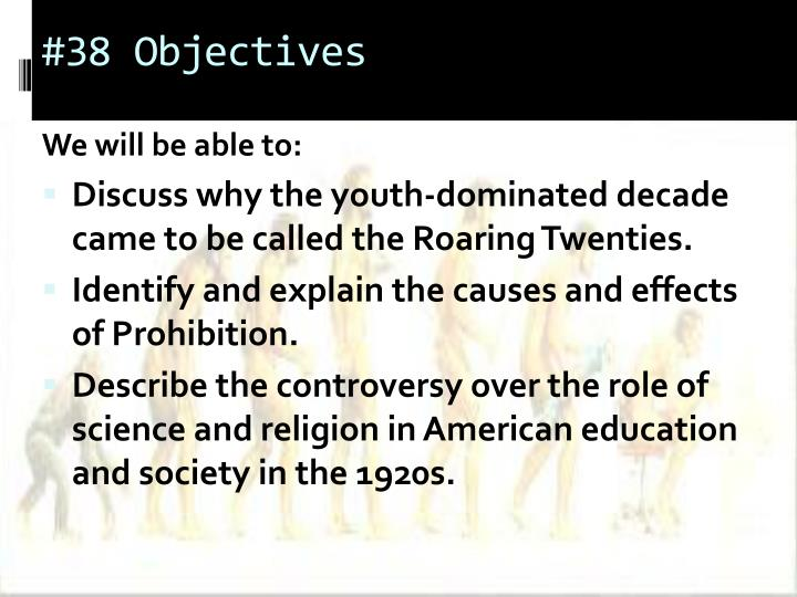 #38 Objectives