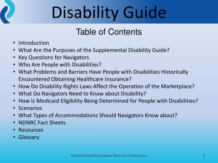 Disability Guide