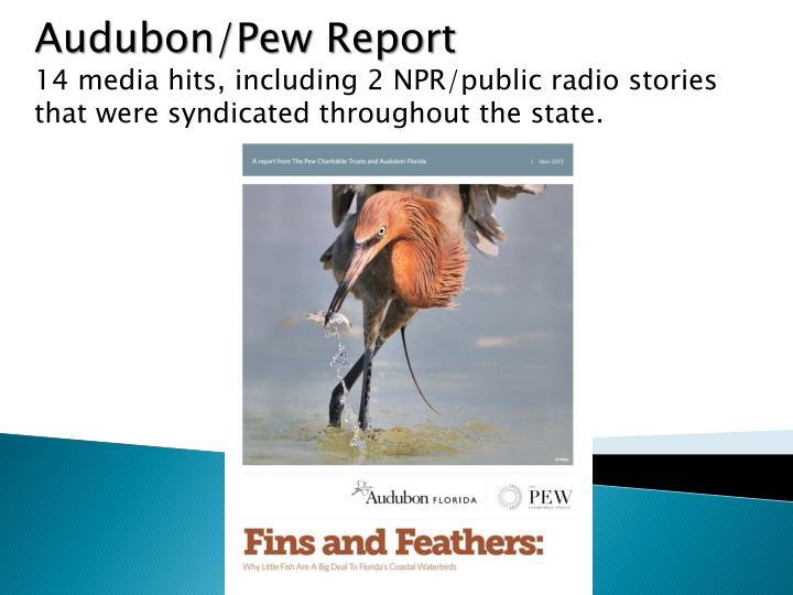 Audubon/Pew Report