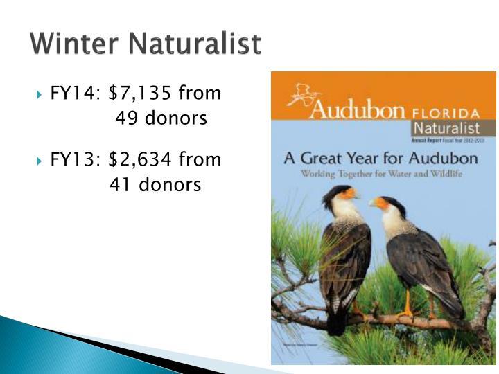 Winter Naturalist