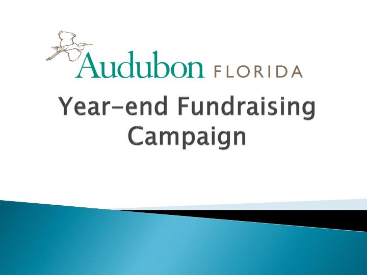 year end fundraising campaign