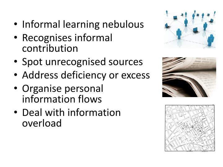 Informal learning nebulous