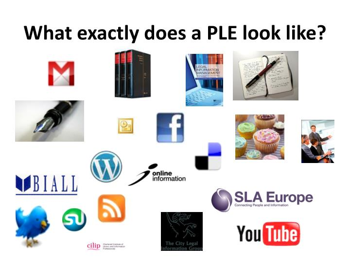 What exactly does a PLE look like?