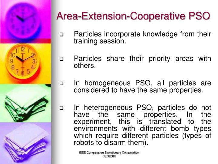 Area-Extension-Cooperative PSO