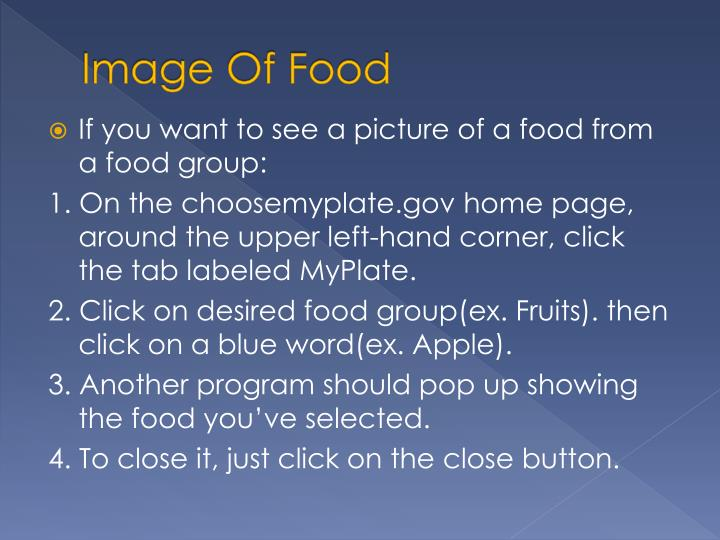 Image of food