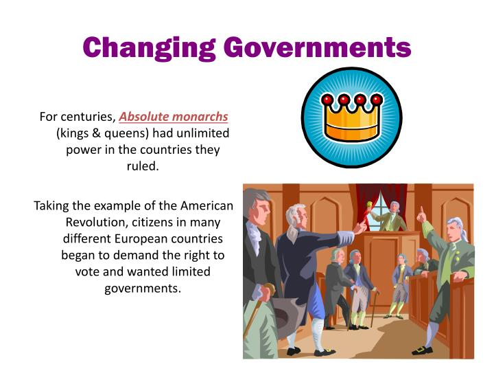 Changing Governments
