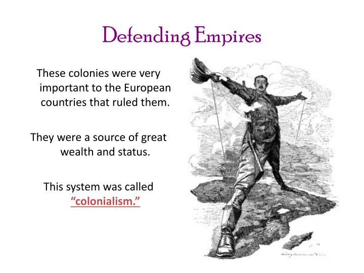 Defending Empires
