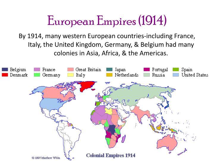 European Empires (1914)