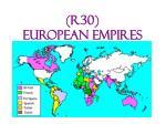 r30 european empires