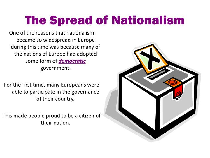 The Spread of Nationalism