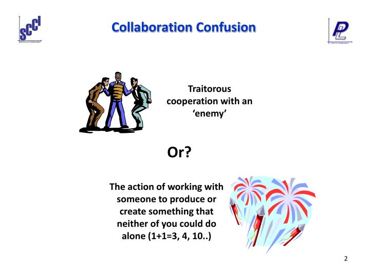 Collaboration confusion