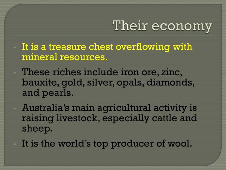 Their economy