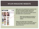 nylon magazine website1
