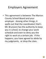 employers agreement