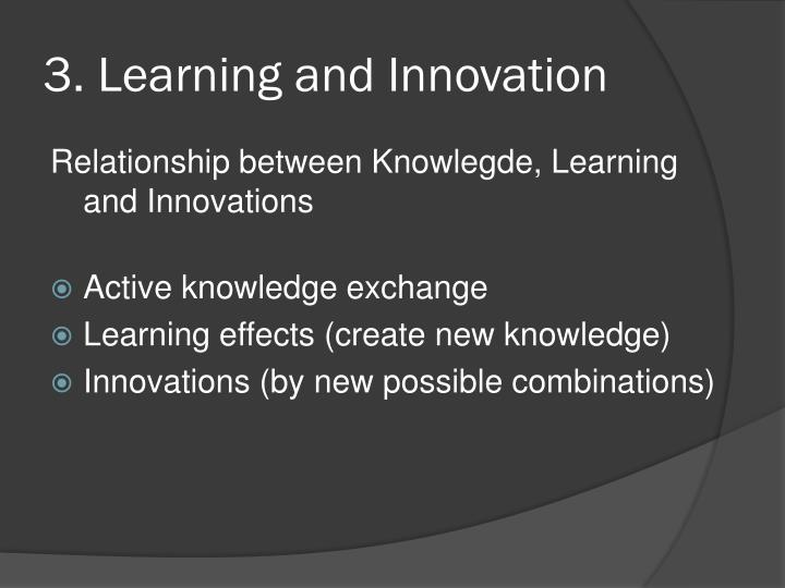 3. Learning