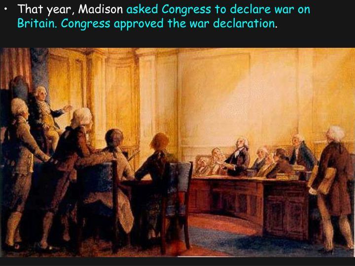 That year, Madison