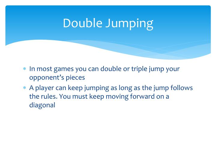 Double Jumping