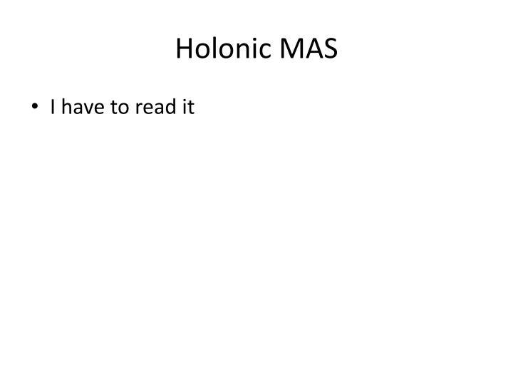 Holonic