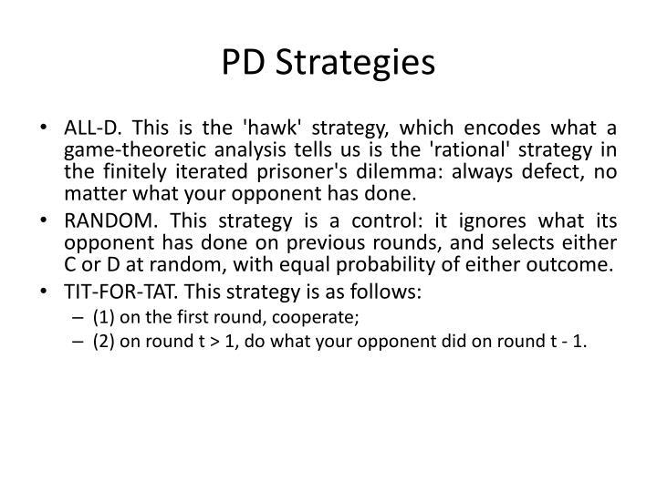 PD Strategies