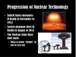 progression of nuclear technology