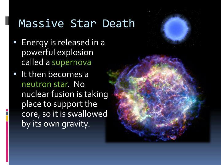 Massive Star Death