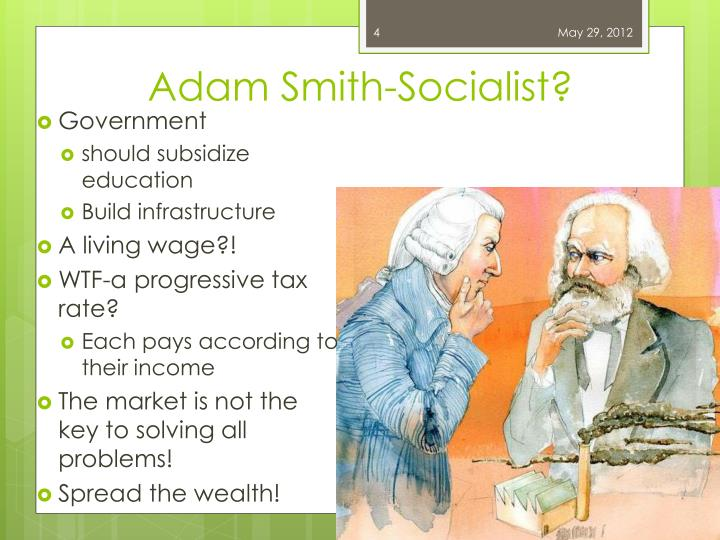 Adam Smith-Socialist?