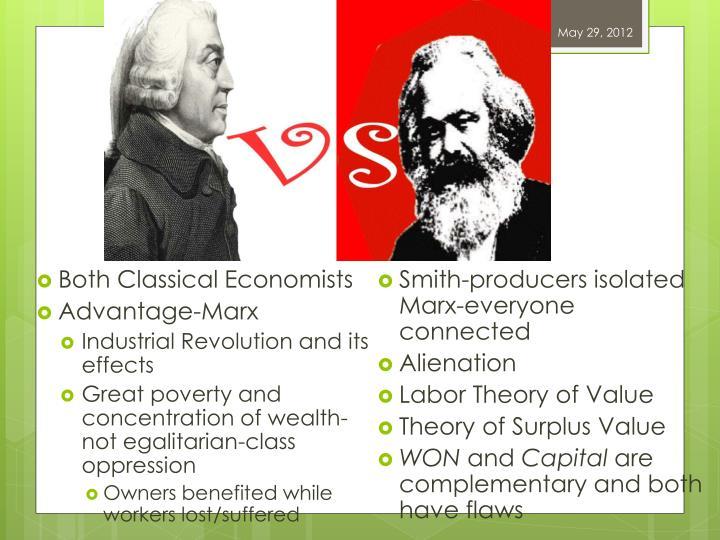 Both Classical Economists