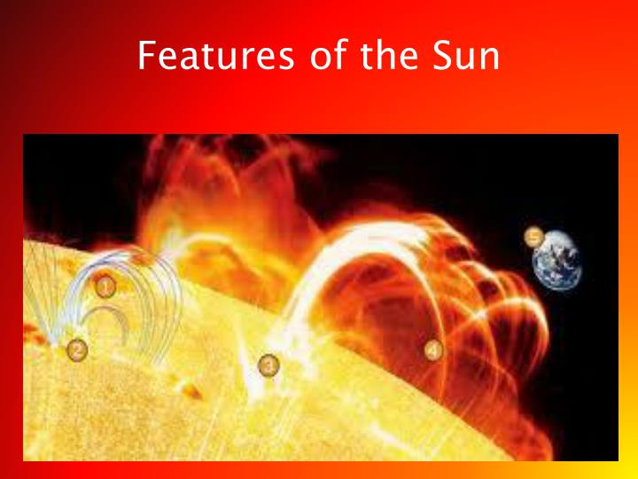 Features of the Sun