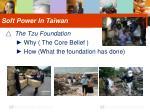 soft power in taiwan