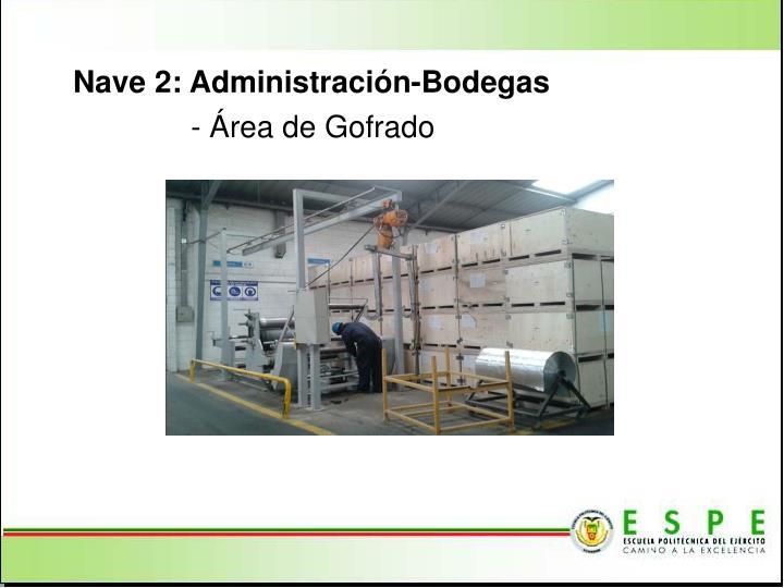 Nave 2: Administración-Bodegas