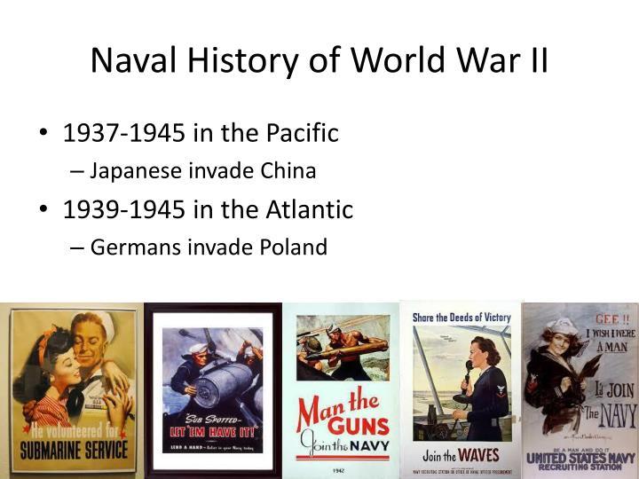Naval History of World War II