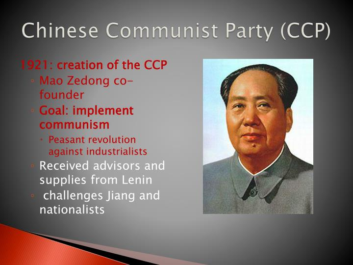 Chinese communist party ccp
