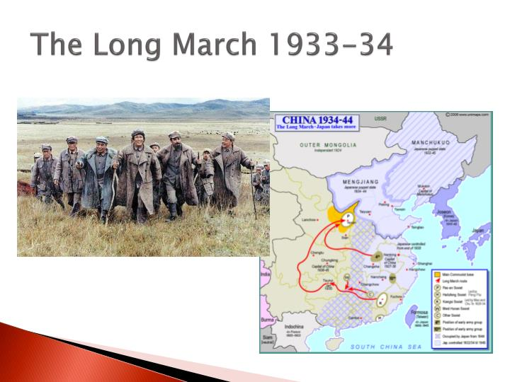 The Long March 1933-34