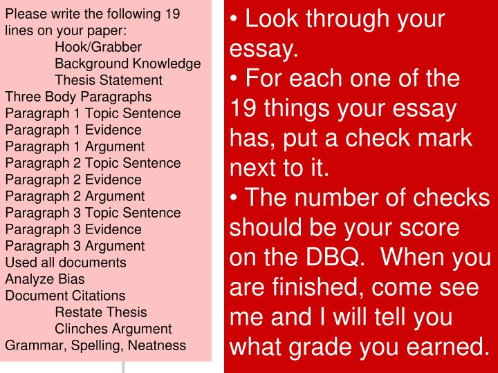 Please write the following 19 lines on your paper: