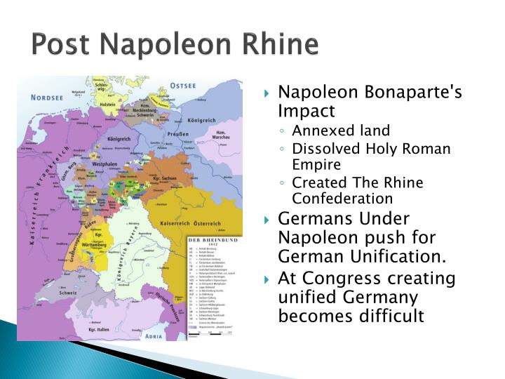 Post napoleon rhine