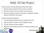 nasa ice net project