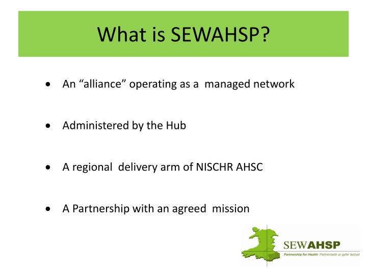 What is SEWAHSP?