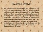 econmoic lifestyle