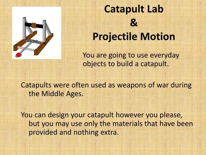Catapult Lab
