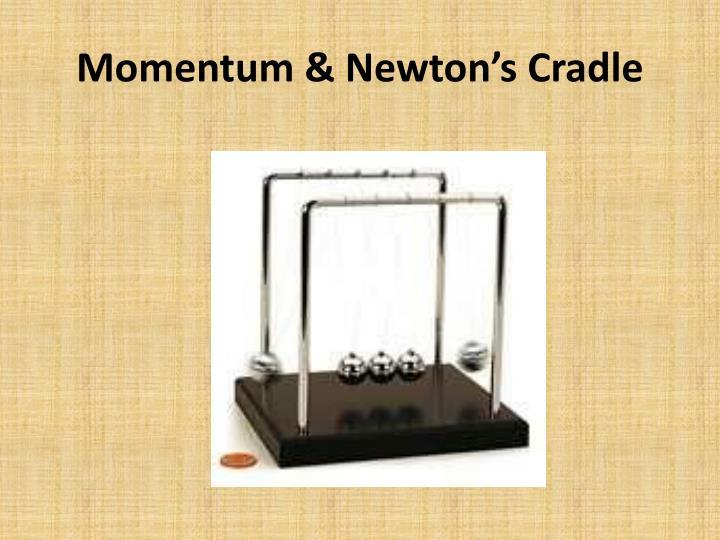 Momentum & Newton's Cradle