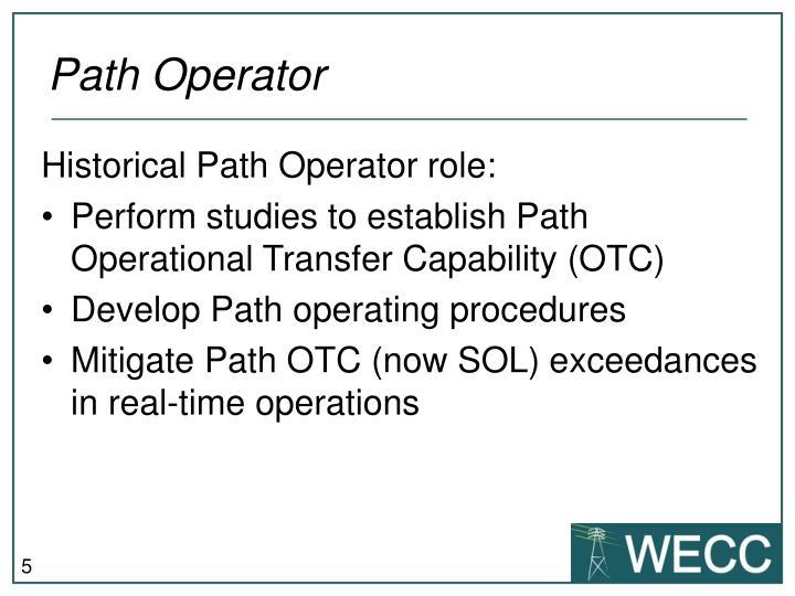 Path Operator