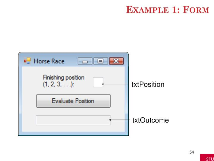Example 1: Form