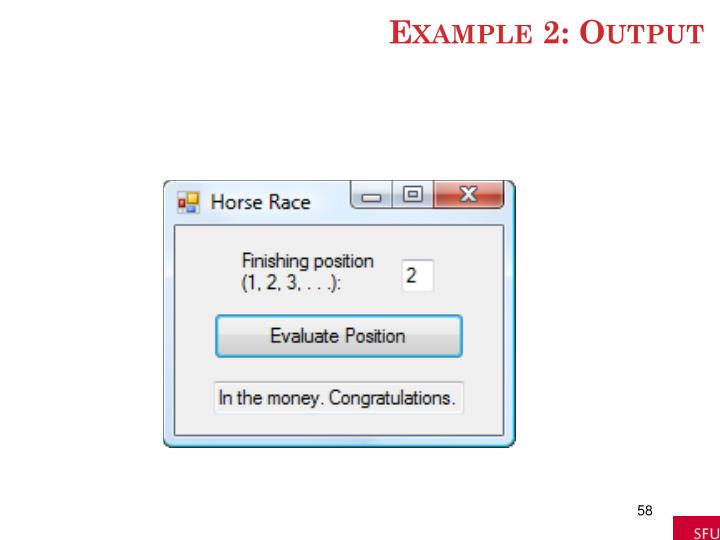 Example 2: Output