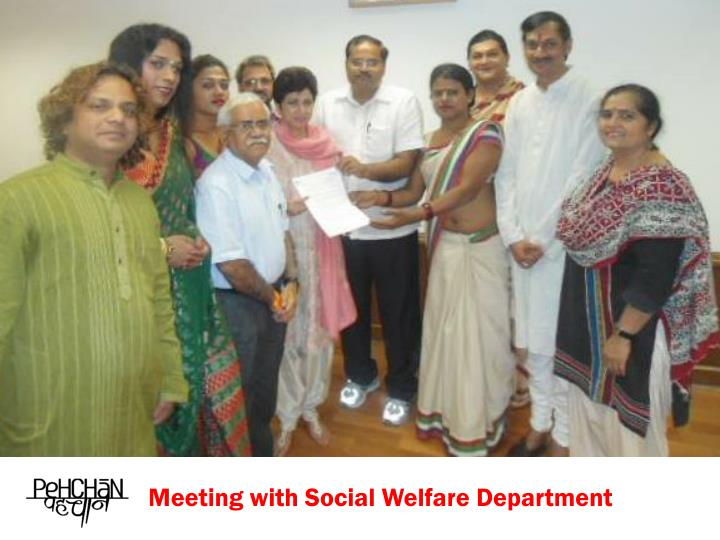 Meeting with Social Welfare Department