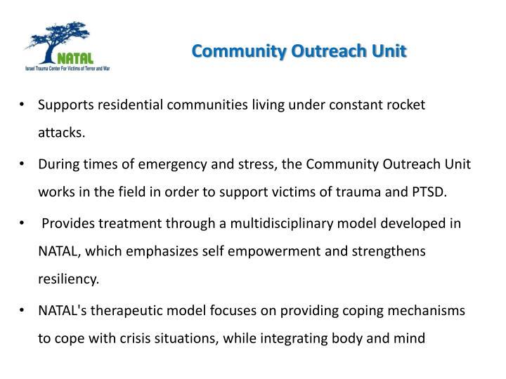 Community Outreach Unit